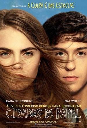 Cartaz do filme 'Cidades de papel' (Foto: Divulgação)