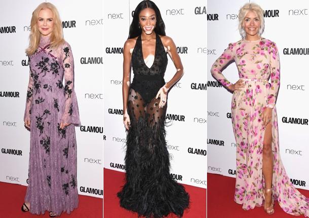 Famosas no tapete vermelho do Glamour Awards 2017 (Foto: Stuart C. Wilson/Getty Images)