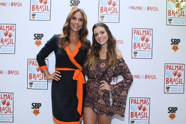 Ivete Sangalo e Giovanna Lancellotti (Foto: Thiago Duran/AgNews)