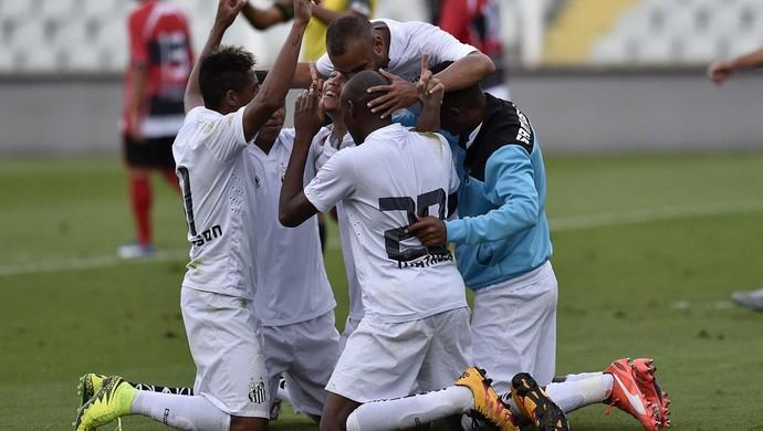 Santos B (Foto: Ivan Storti / Divulgação Santos FC)