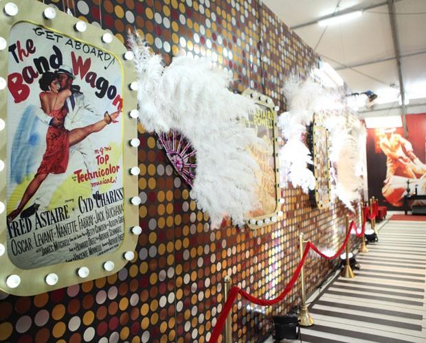 Conheça a casa do Dança dos Famosos na semana do foxtrote (Foto: Carol Caminha/ TV Globo)