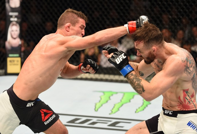 Darren Elkins Robert Whiteford UFC Dublin 2 (Foto: Getty Images)
