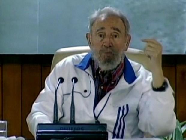 GNews - Fidel Castro (Foto: Reprodução/GloboNews)