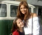 Letícia Braga e Sophie Charlotte em 'Os dias eram assim'   Arquivo pessoal