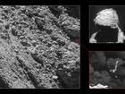 Câmeras da sonda espacial Rosetta localizam o robô Philae em cometa