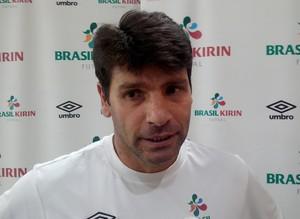 Vander Iacovino, treinador do Sorocaba Futsal (Foto: Emilio Botta)
