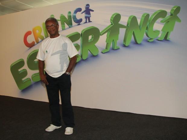 Milton Gonçalves no Criança esperança  (Foto: Wagner Santos)