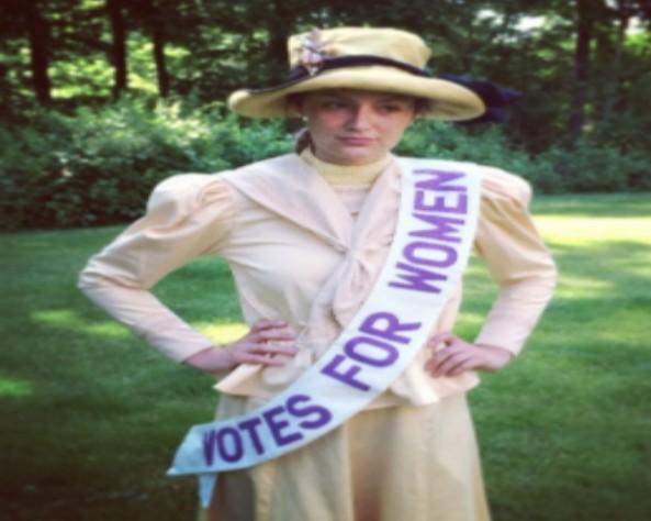 Sufragista que lutava pelo direto ao voto foi a escolha dessa internauta (Foto: Reprodução / Instagram)