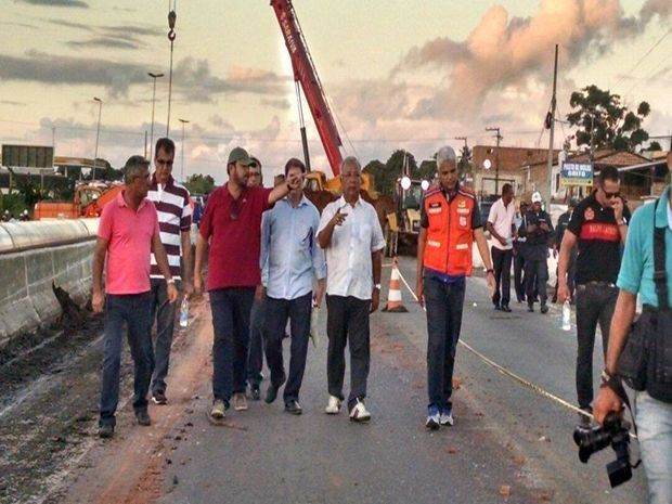 Governador disse que situação é de emergência (Foto: Divulgação/Priscila Bitencourt)