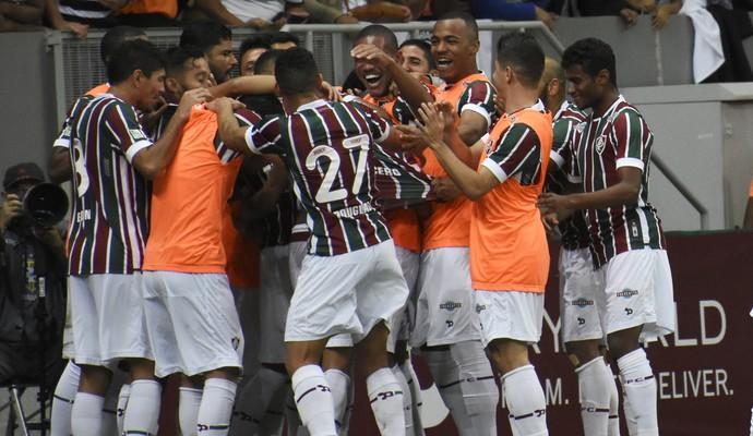Fluminense x Corinthians no Mané Garrincha (Foto: Mailson Santana/Fluminense)