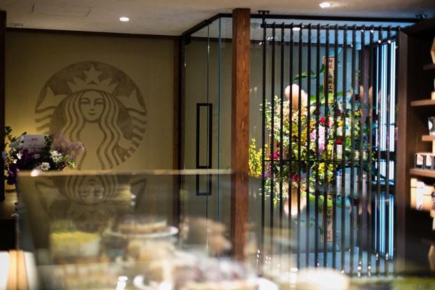 Starbucks abre loja em uma tradicional casa de chá no JapãoStarbucks abre loja em uma tradicional casa de chá no Japão (Foto: Divulgação)