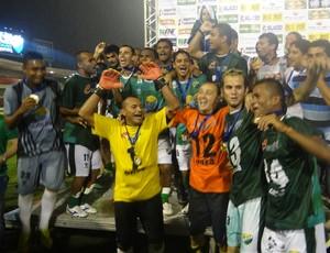 Coruripe campeão (Foto: Leonardo Freire/GloboEsporte.com)