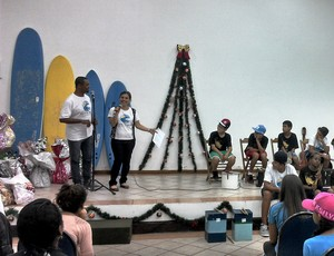 Jojó de Oliveira, projeto de surf em Guarujá (Foto: Divulgação)