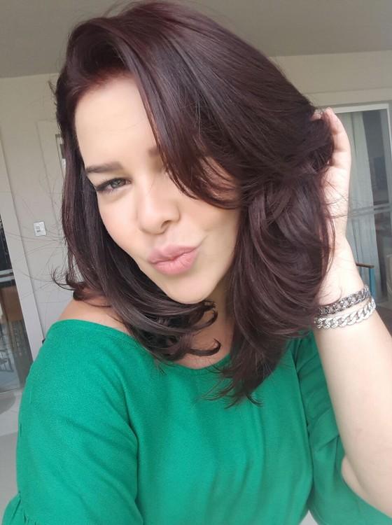 Fernanda Souza aparecerá com os cabelos mais avermelhados na nova temporada do Vai Fernandinha (Foto: Divulgação)