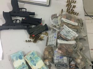 Suspeito teria cometido um assalto contra um corresponde bancário Caixa Aqui (Foto: SSPDS/Divulgação)
