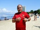Em Manaus, brasileiro fã de Luís Figo diz torcer pela seleção de Portugal