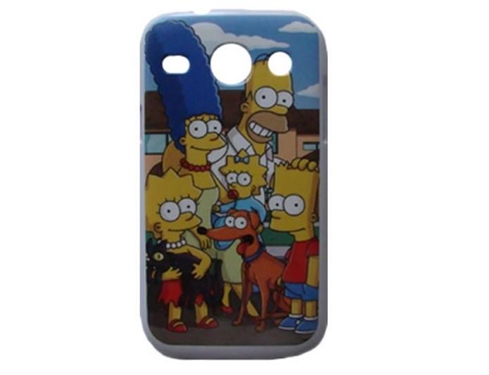 1eb71adb4ecbd Capinha para Galaxy S3 Duos dos Simpsons (Foto  Divulgação Coronitas  Acessórios)