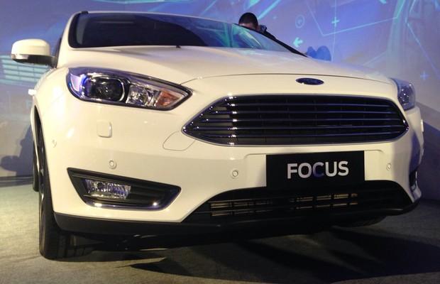 Ford revela Focus 2016 em evento de tecnologia (Foto: Michelle Ferreira / Autoesporte)