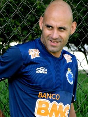 Bruno Rodrigo cruzeiro treino (Foto: Marco Antônio Astoni )