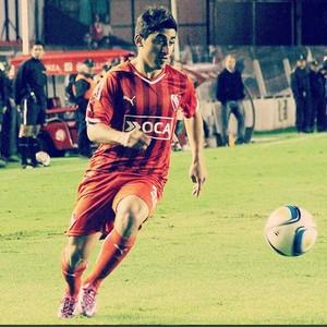 Matias Pisano meia Independiente (Foto: Divulgação/ Independiente)