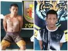 Dois foragidos dos sistema prisional são capturados em Roraima