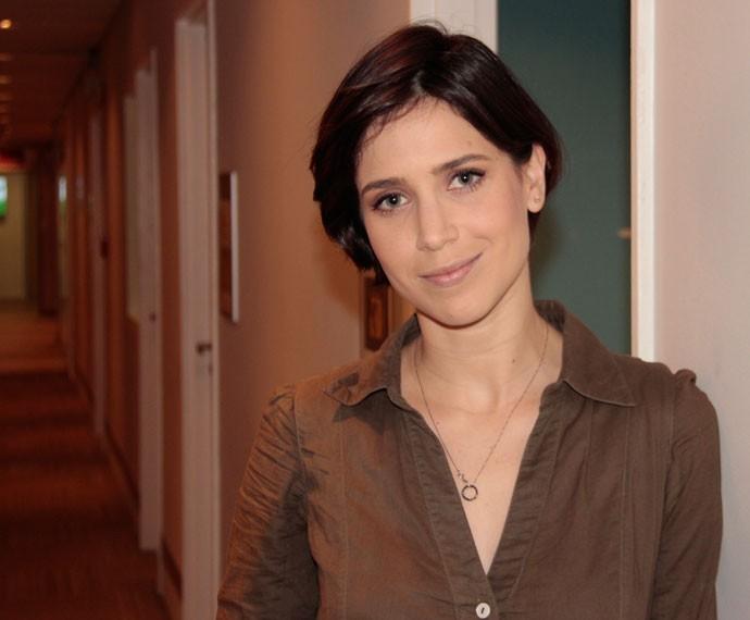 Mel Lisboa manda um recado para Camila Queiroz  (Foto: Marcos Mazini/Gshow)