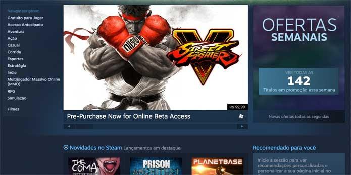 Seus downloads no Steam estarão mais rápidos assim que a modificação for feita (Foto: Reprodução/Felipe Vinha)