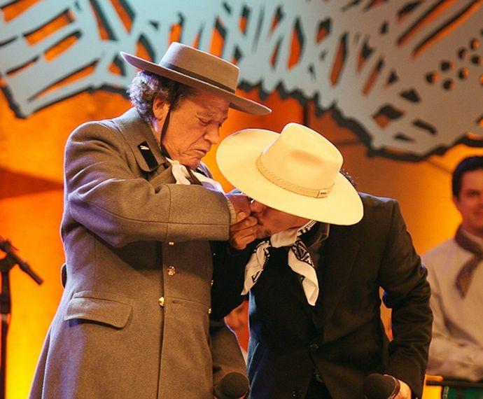 Nico Fagundes e Neto Fagundes (Foto: Eduardo Rickes/Divulgação)