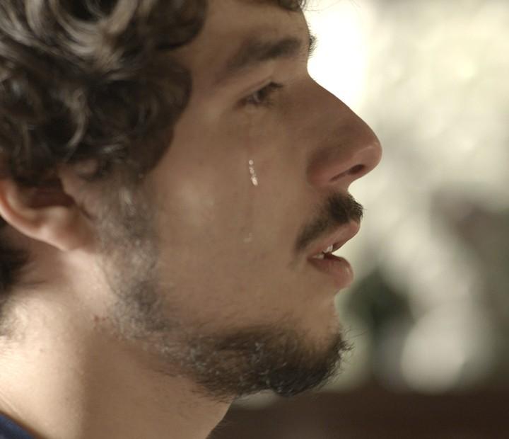 Luan conta a verdade a Jorge (Foto: TV Globo)