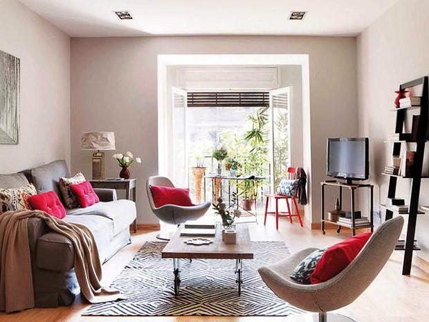 D cor do dia conforto na suavidade casa vogue interiores for Decoracion salones acogedores