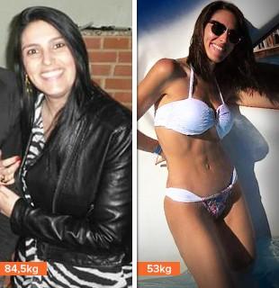 euatleta minha historia Simone antes depois (Foto: Eu Atleta)