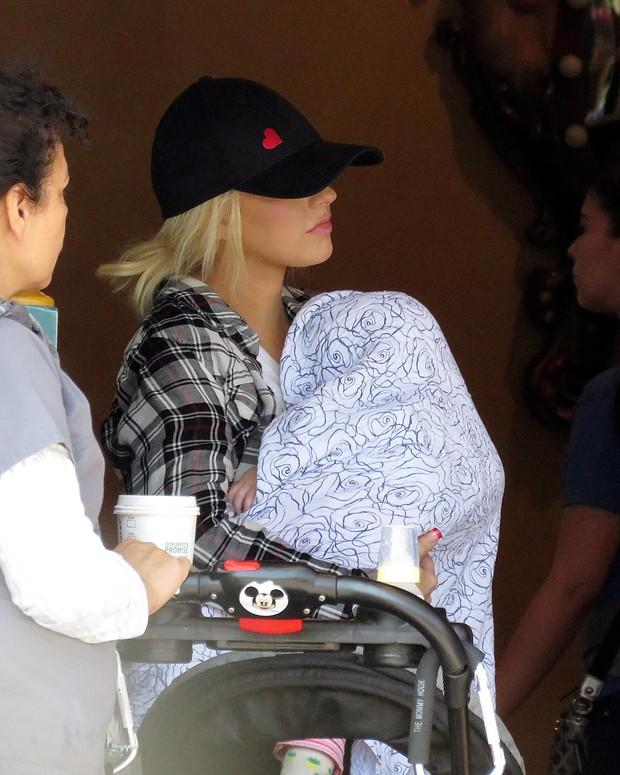 Christina Aguilera (Foto: Agência AKM)