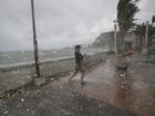 Tufão Hagupit mata 2 nas Filipinas