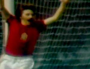 Panenka cavadinha 1976 (Foto: Reprodução)