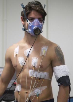 Alexandre Pato faz exame cardiológico no Corinthians (Foto: Daniel Augusto Jr. / Agência Corinthians)