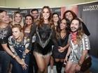 Carolina Dieckmann, Preta Gil, Giovanna Ewbank e mais vão a show de Ivete Sangalo no Rio