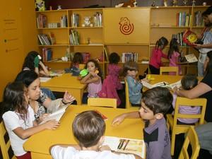 Biblioteca Rocambole do Museu Imperial em Petrópolis (Foto: Divulgação/Museu Imperial)