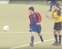 Barcelona divulga imagens inéditas de Lionel Messi jogando aos 15 anos