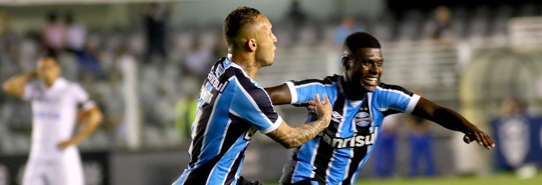 Veja os melhores momentos  de Santos 1x1 Grêmio (MAURICIO DE SOUZA//ESTADÃO CONTEÚDO)