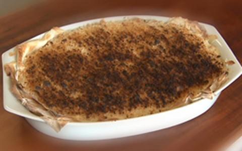 Torta de bacalhau para a ceia de Natal