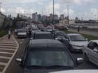 Carreata da Telexfree protesta contra Justiça do Acre nas ruas de Natal