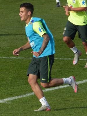 Treino seleção brasileira (Foto: Richard Souza)