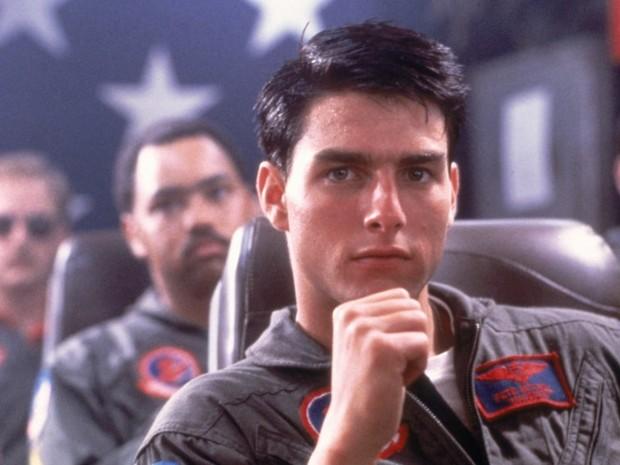 Tom Cruise em Top Gun