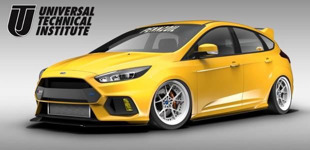 Ford Focus RS Universal Technical Institute (Foto: Divulgação)