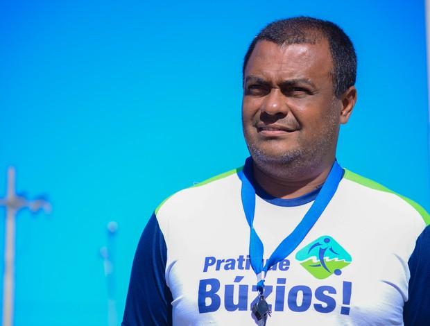 Ronaldo de Souza Faria, irmão do Romário, Búzios (Foto: Léo Borges/NaJogada)