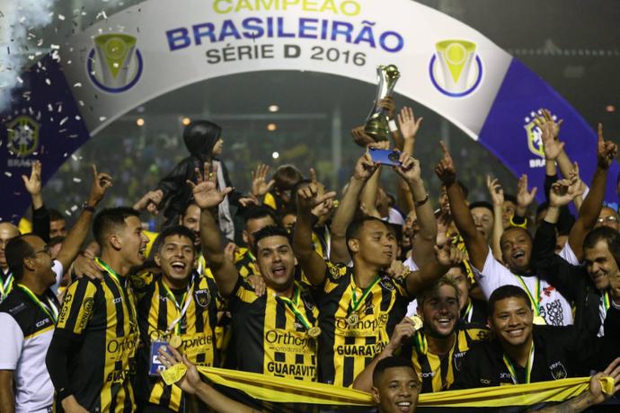Voltaço é campeão da Série D! (Foto: Lucas Figueiredo/CBF)