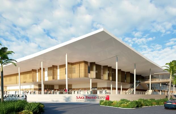 Salão do Automóvel de 2016 será no São Paulo Expo (Foto: Divulgação)