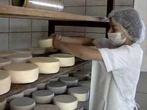 Tradição e inovação são aliadas na produção do queijo canastra (Foto: Reprodução/TV Integração)
