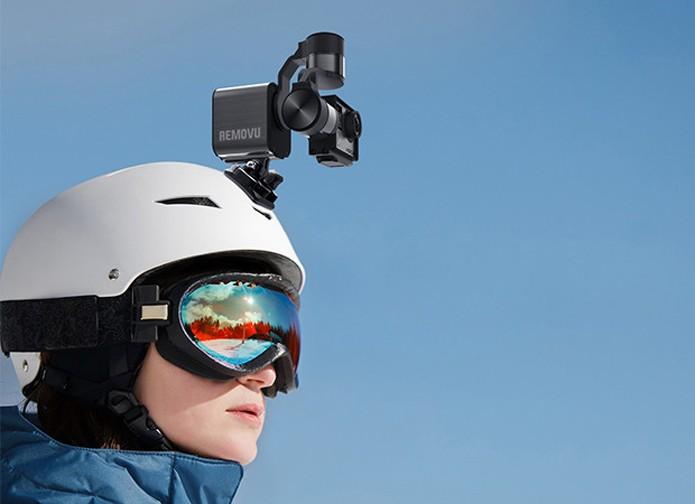 Estabilizador pode ser montado em qualquer acessório compatível com GoPro (Foto: Reprodução/Indiegogo)