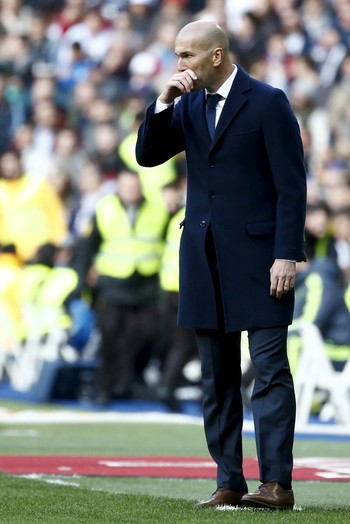 Zidane Real Madrid x Atletico (Foto: Reuters)